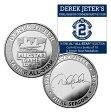 (セール)The Highland Mint (ハイランドミント) デレク・ジーター ファイナルシーズンコイン #2 (Derek Jeter Final Season 14 time All Star Coin)