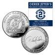 (セール)The Highland Mint (ハイランドミント) デレク・ジーター ファイナルシーズンコイン #7 (Derek Jeter Final Season DJ3K Coin)