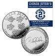 (セール)The Highland Mint (ハイランドミント) デレク・ジーター ファイナルシーズンコイン #10 (Derek Jeter Final Season Yankees All Time Hit Leader Coin)