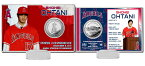 The Highland Mint (ハイランドミント) 大谷翔平 ロサンゼルス・エンゼルス シルバーコインカード (Shohei Ohtani Angels Press Conference Silver Coin Card) 3/5再入荷