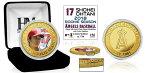 The Highland Mint (ハイランドミント) 大谷翔平 ロサンゼルス・エンゼルス MLBルーキーシーズンゴールドカラーコイン (Shohei Ohtani MLB Rookie Season Gold Color Coin) 5/22再入荷予定!