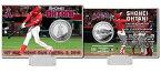 The Highland Mint (ハイランドミント) 大谷翔平 ロサンゼルス・エンゼルス MLB初ホームランシルバーコインカード (Shohei Ohtani 1st MLB HR Silver Coin Card) 5/22再入荷予定!