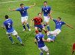 アンドレス・イニエスタ直筆サインフォトスペイン代表UEFAEURO2012vsイタリア