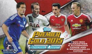2015 Topps Premier Gold Soccer パック(Pack) 2/5入荷!
