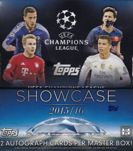 チャンピオンズリーグ 2015-16 Topps UEFA Champions League Showcase Soccer ボックス 3/23発売!...