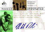 ケンドリック・パーキンス NBAカード Kendrick Perkins 03/04 SP Signature Edition Rookie INKorporated 054/100