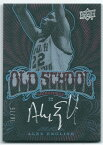 アレックス・イングリッシュ 2013-14 UD Black Old School Signatures Alex English Auto 70/75