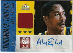 アレックス・イングリッシュ Alex English 2013-14 Panini Elite Throwback Threads Auto 28/99