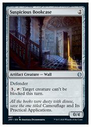 【MTG】(ENG) 怪しげな書架/Suspicious Bookcase(JMP)(U) ア◇アンコモン