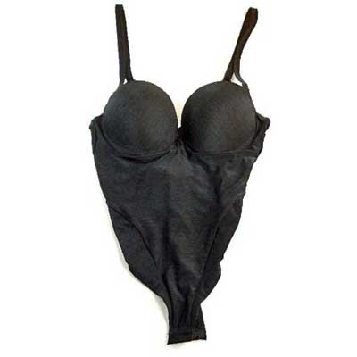 Millesia (ミレッジア, ミレジア) パテッドブラ Bodysuit black color (black) sale sale bargain shipping included less than half