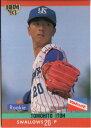 BBM1993 ベースボールカード レギュラーカード(ルーキーカード) No.418 伊藤智仁