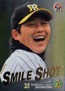 BBM2010 阪神タイガース SMILE SHOT No.TS6 新井貴浩