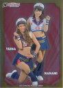 BBM2017 プロ野球チアリーダーカード-華- インサートカード No.輝03 YUINA/NANAMI