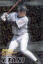 カルビー2004 プロ野球チップス プレイヤー オブ グローリーカード ブラックバックパラレル No.G-12 谷佳知
