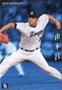 カルビー2014 プロ野球チップス スターカード No.S-44 山本昌
