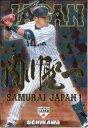 カルビー2017 野球日本代表 侍ジャパンチップス 金箔漢字パラレルカード No.SJ-30 内川聖一