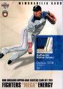 BBM2011 北海道日本ハムファイターズカードセット 「FIGHTERS MEGA ENERGY」 パッチカード No.M6 陽岱鋼 /50