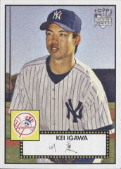 井川慶 2007 Topps 52 Rookie Card Kei Igawa