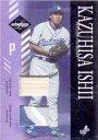 石井一久 2003 Leaf Limited Certificate of Authenticity Patch & Bat Card /25 Kaz Ishii