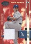 野茂英雄 2003 Donruss Leaf Certified Materials Mirror Red Jersey Card /250 Hideo Nomo