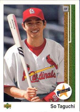 田口壮 2002 Upper Deck Rookie Card So Taguchi