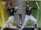 BBM2013 プロ野球背番号列伝 プロモーションカード カードNo.BS08 秋山幸二/内川聖一
