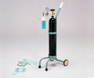 【送料無料】キャリー型酸素吸入器【0-341-01】