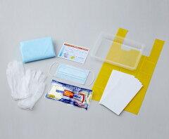 ●嘔吐物の処理に必要な防護具や清掃用品をセットにしました●【汚物処理 感染】嘔吐物処理セ...