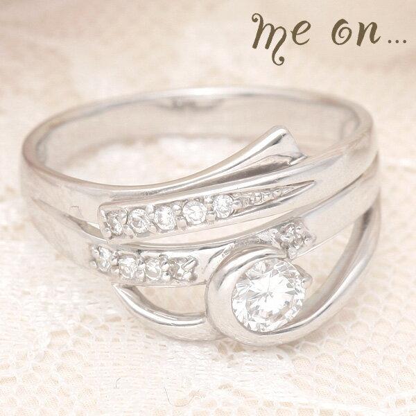 ブライダルジュエリー・アクセサリー, 婚約指輪・エンゲージリング me on...18K18(WG)23r