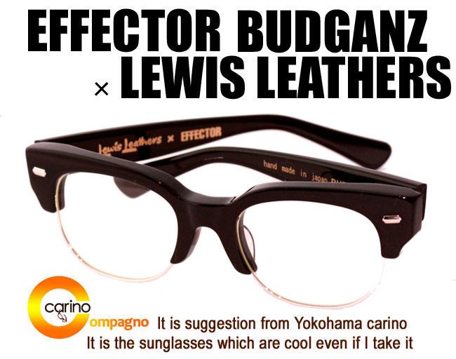 眼鏡・サングラス, 眼鏡 EFFECTORLEWIS LEATHERS BUD GANZ