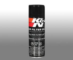 K&N フィルターオイル エアゾール 184g 99-0504
