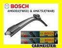 BOSCH ボッシュ 欧州車 ワイパー FW60 FW48 インポートマスター フラットタイプ エアロツイン セット販売 【送料込】