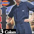 ディッキーズ半袖つなぎ#1012S〜3L【Dickies・ツナギ・ショートスリーブ・カバーオール】