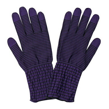 うるおい手袋 モイストコート002(ダークカラー・パープル)【DM便対応商品・代引不可】【10P03Dec16】