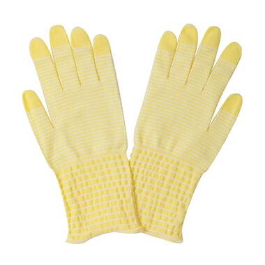 うるおい手袋 モイストコート003(パステルカラー・レモン)【DM便対応商品・代引不可】【10P03Dec16】