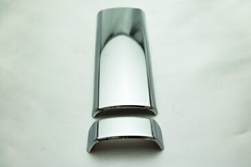 トヨタ ハイエース 200 系 クローム メッキ インナー ドア ハンドル カバー (スライドドア1枚分) ◆ 送料無料 ◆