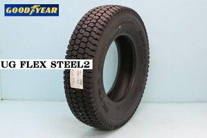 グッドイヤーUGFLEXSTEEL2ユージーフレックススチール2ライトラック用スタッドレスタイヤ185/65R15101/99L