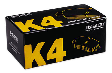 AKEBONO 曙ブレーキ工業 ダイハツ アトレー S200P 98.12〜01.08 用 軽自動車用ディスクパッド K4 K-609WK