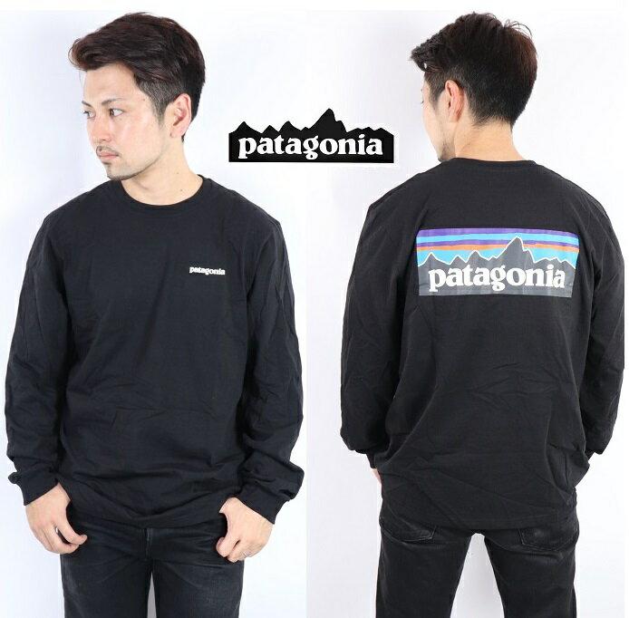 トップス, Tシャツ・カットソー  PATAGONIA T T P-6 LOGO RESPONSIBILI-TEE WHI WHITE BLk Black T SHIRTS