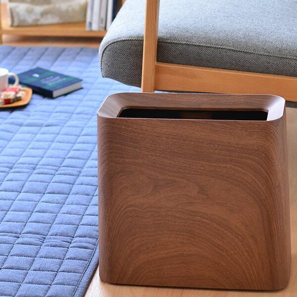 ゴミ箱 TUBELOR Hi-GRANDE ROSEWOOD チューブラー ハイグランデ ローズウッド ideaco イデアコ ゴミ箱 シンプル キッチン ゴミ袋 ダストボックス リビング 袋 レジ袋 トラッシュボックス ビニール袋 見えない 北欧 おしゃれ ごみ箱