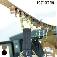 車収納ハングイットPACK2POSTGENERALポストジェネラルハンギングベルト吊り下げ収納デイジーチェーン釣具キャンプ小物収納テント吊るすアウトドア