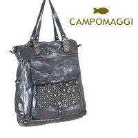 ◇CAMPOMAGGI[カンポマッジ]ウォッシュドレザービッグトートバッグ8A009280NDC0501