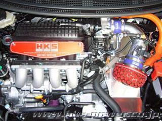 HKS レーシングサクションリローデッドCR-Z DAA-ZF1