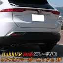 【予約】新型ハリアー 80系 パーツ リアバンパーガーニッシュ...