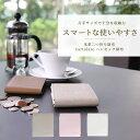 送料無料 財布 レディース 小銭 取り出しやすい レザー 二つ折り財布...