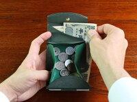 三つ折り財布/小銭入れ/小型/財布/小ささと薄さと収納力を実現できたのは、これまでにない特別な構造