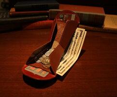 小銭入れ/スリム/小型/財布/二つ折り財布/小ささと薄さと収納力を実現できたのは、これまでにない特別な構造