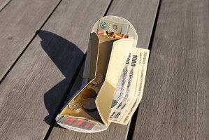 レザー/ウォレット/小銭入れ/スリム/小型/財布/二つ折り財布/小ささと薄さと収納力を実現できたのは、これまでにない特別な構造