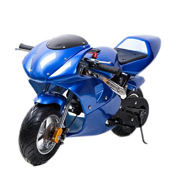 49ccGP黒白カラーモデルエンジンポケバイポケットバイク2ストエンジン混合油使用 DIY・工具