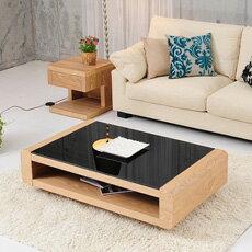 ガラステーブル リビングテーブル コーヒーテーブル センターテーブル 北欧スタイルのFORMロー...